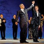 Scheer and Jake Heggie take a Moby-Dick curtain call at Dallas Opera, 2010