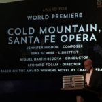 Cold Mountain won the 2016 International Opera Award for best World Premiere. Award was presented in London